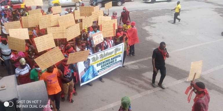 Wassa Fiase: Chiefs Demand Reinstatement Of Odeneho Akrofa Krukoko II