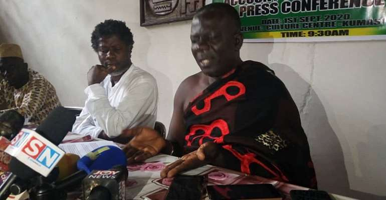 Asanteman Gave NPP Over 1,6million Votes In 2016 But Taking Us For A Fool, December 7 We Shall See 'Paaaa' — Group Vex