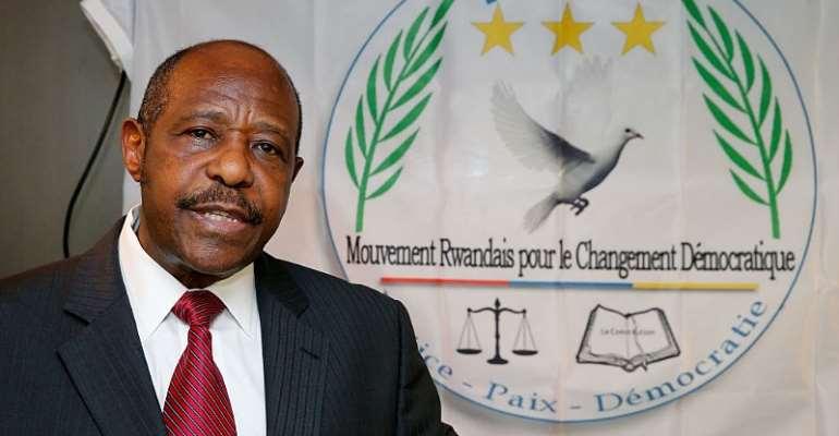 Paul Rusesabagina, chairman of the Rwandan Movement for Democratic Change political party.  - Source: