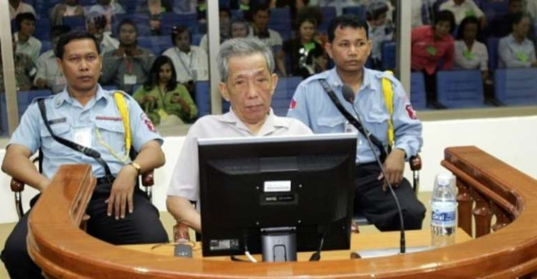 Khmer Rouge prison chief Duch dies in Cambodia aged 77