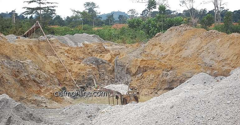 GASSM blames politicians for increased in galamsey operations