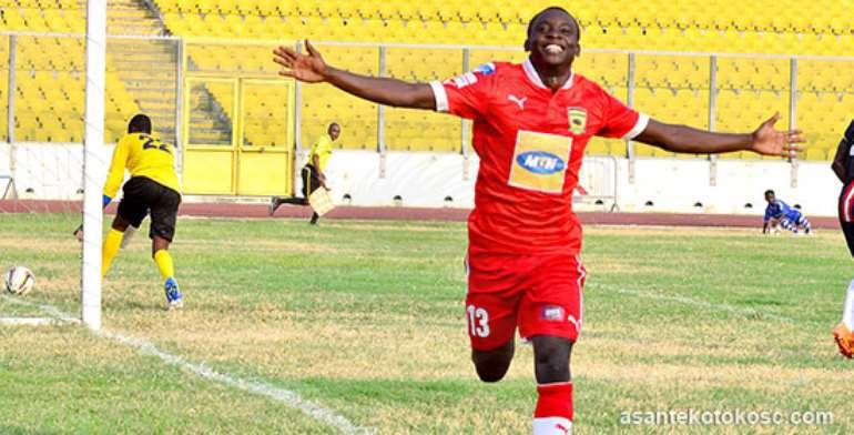 Asante Kotoko's Dauda Mohammed idolizes Manchester City striker Sergio Aguero