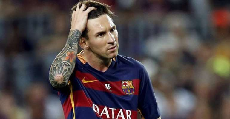 Messi ruled out for three weeks