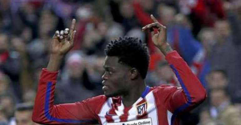 Thomas Partey: Diego Simeone heaps praises on Black Stars midfielder