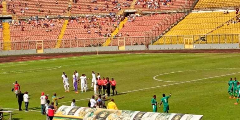 CHAN Qualifiers: Burkina Faso Cruise Over Ghana At Baba Yara Stadium