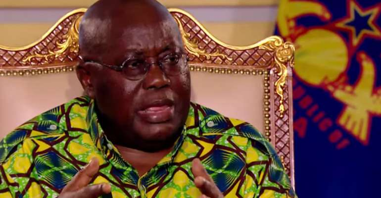 Why Nana Akufo Addo's Words Are Sometimes Disappointing