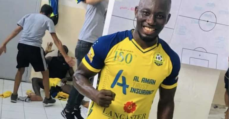 Former Kotok, Ashgold Striker Saddick Adams Joins Shabab El-Bourj in Lebanon