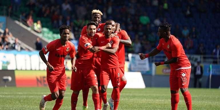 Twumasi Named MoTM In Gazişehir's Win Over Rezispor