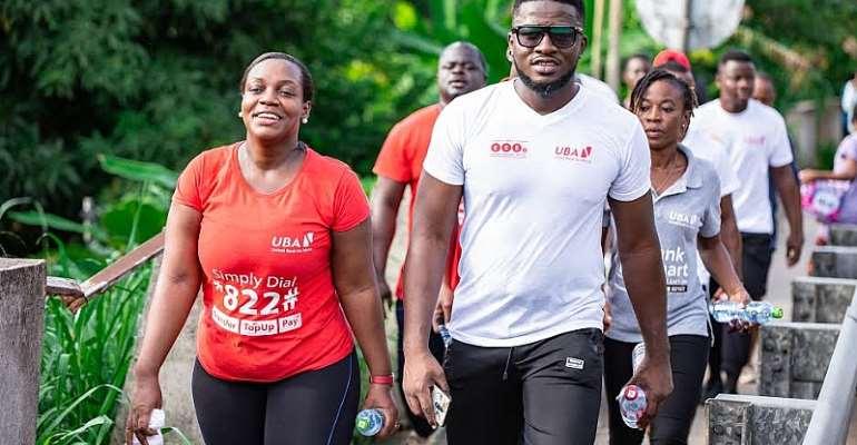 """UBA Holds """"Jogging To Bond"""" Exercise"""