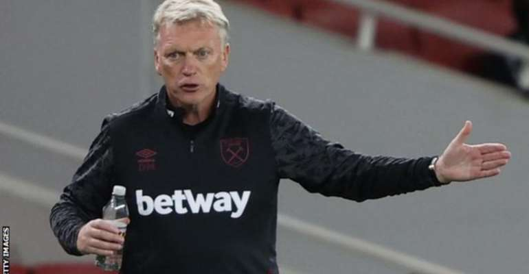David Moyes and two West Ham players immediately left Tuesday's home fixture when they were told they had Covid-19