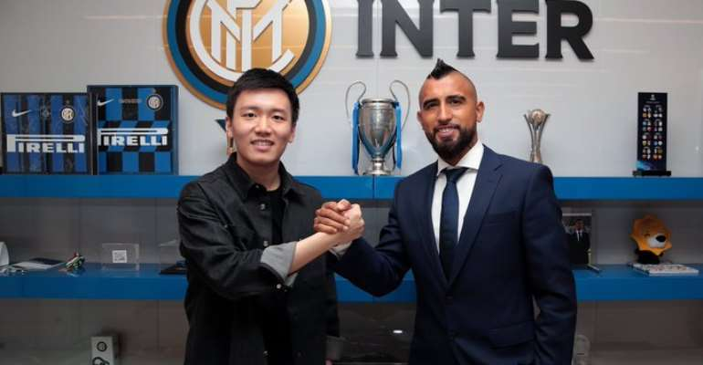 Arturo Vidal Joins Inter Milan From Barcelona