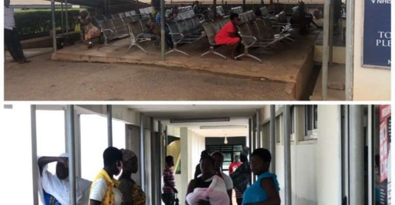 Patients At Ho Municipal Hospital Ask To Go Home Over Strike Action