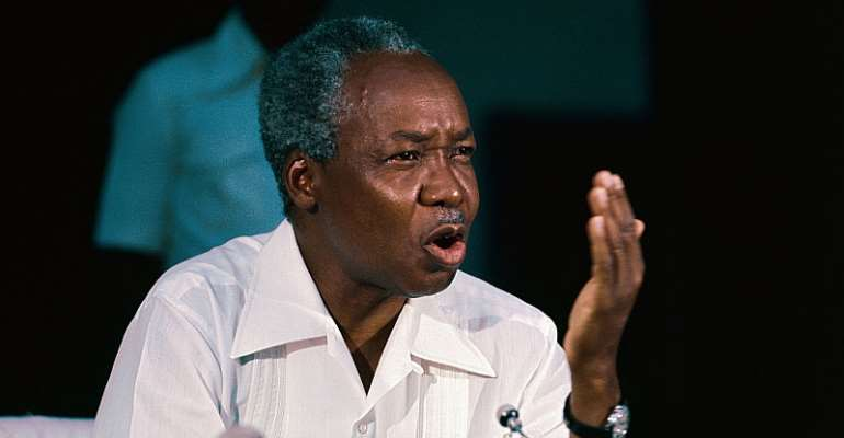 Julius Nyerere's ideas and legacy remain objects of debate in contemporary politics, especially in an election year. - Source: Getty Images