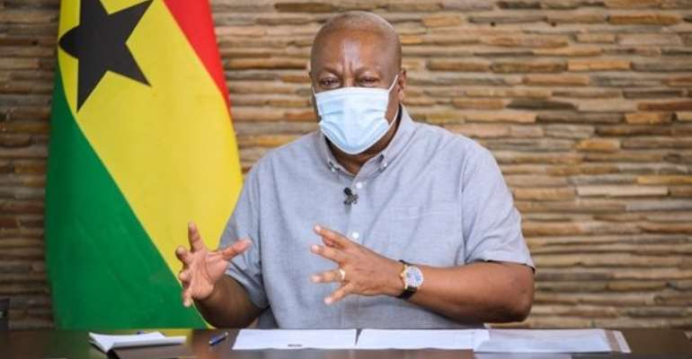 Mahama Cuts Short Bono Region Tour Over Reports Of Voter Register Challenges