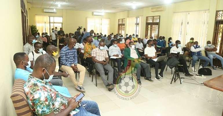 Ghana FA Organizes DTMS Training For Clubs Ahead Of New Season