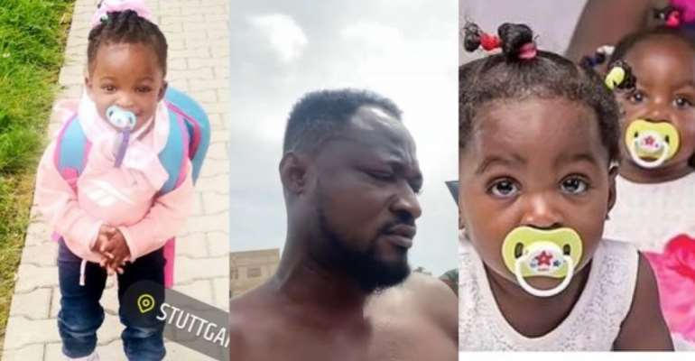 Comedian Funny Face demands ownership of daughter who lives in Germany