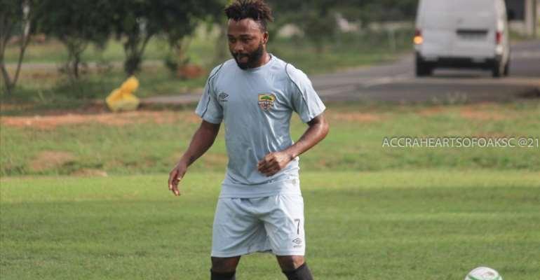 Asante Kotoko board cautioned over attempt to lure Hearts of Oak midfielder Gladson Awako