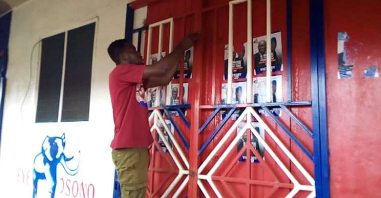 Apedwa NPP Youth on rampage over MCE's removal