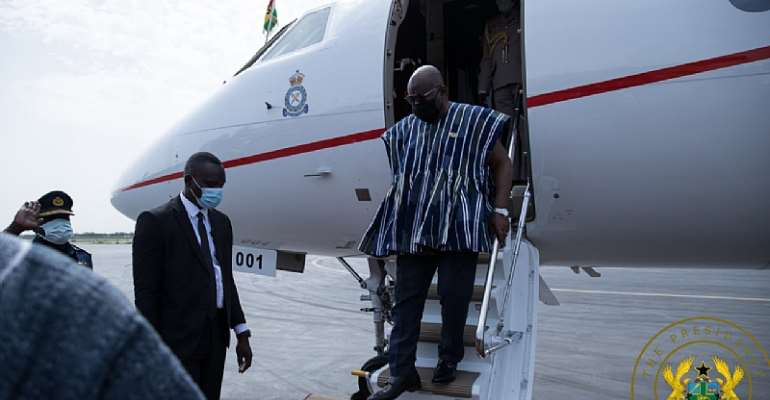 Your insatiable taste to travel in another luxurious jet to US is utter disrespect to Ghanaians – Group blasts Akufo-Addo