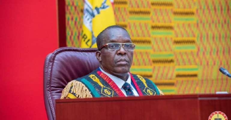 Speaker of Parliament Hon. Alban Bagbin