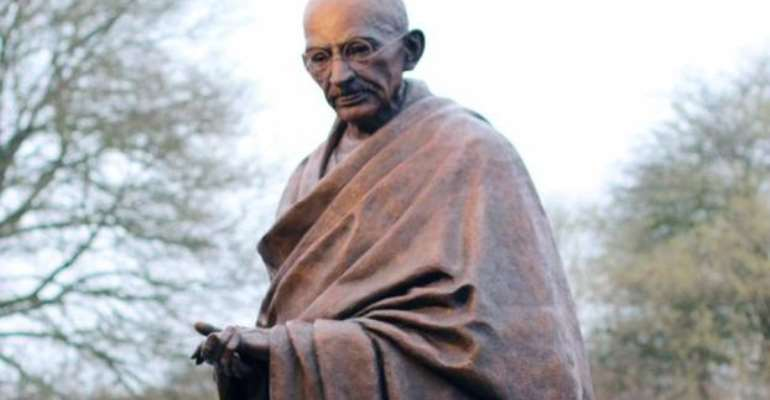 Humans Love Violence: Gandhi and the World Economic Forum