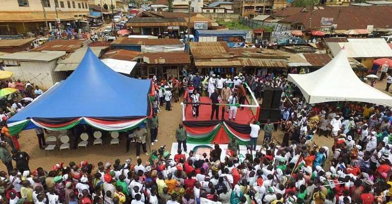 NDC Buses Supporters To Welcome Veep