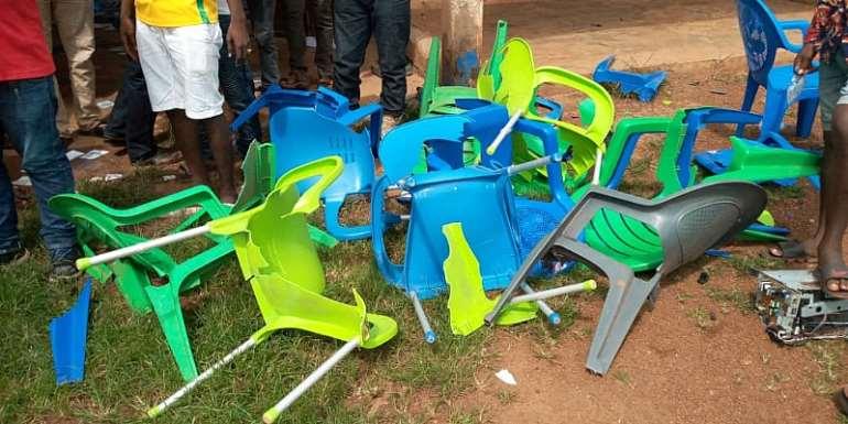 N/R: NPP Probe Vandalism At Sagnarigu Office