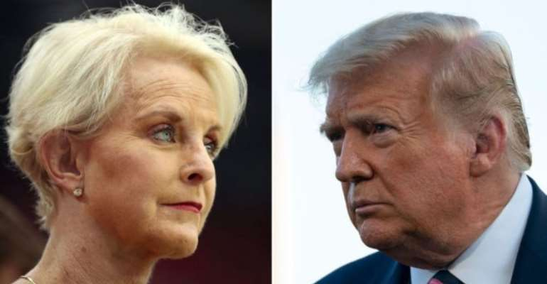 Cindy McCain endorsed Democratic presidential candidate Joe Biden on Twitter, drawing Mr Trump's attack - GETTY IMAGES
