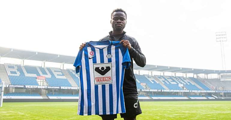 OFFICIAL: Danish Side Esbjerg fB Sign Ghanaian Defender Clinton Antwi On Loan