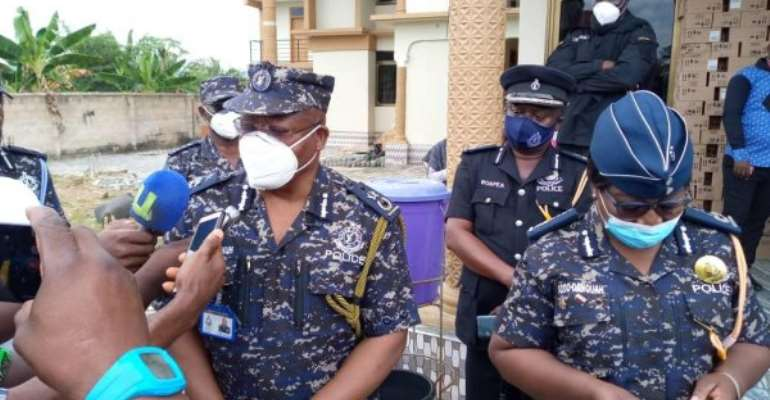 Election 2020: IGP Visits Western North Region To Assess Preparations