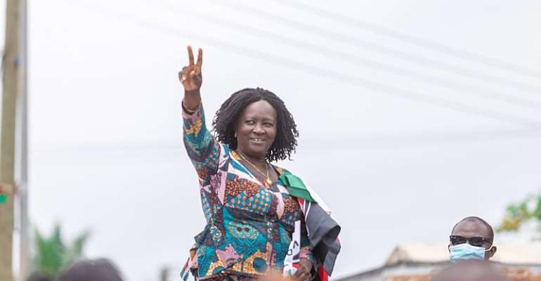 Jane Naana Urge Voters To Participate In Voter Exhibition Exercise