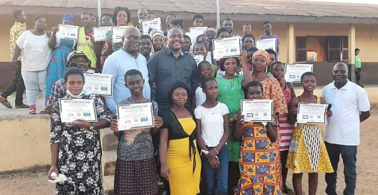I'm empowering you to empower yourself — Dr. Minta Nyarku trains youth with vocational skills