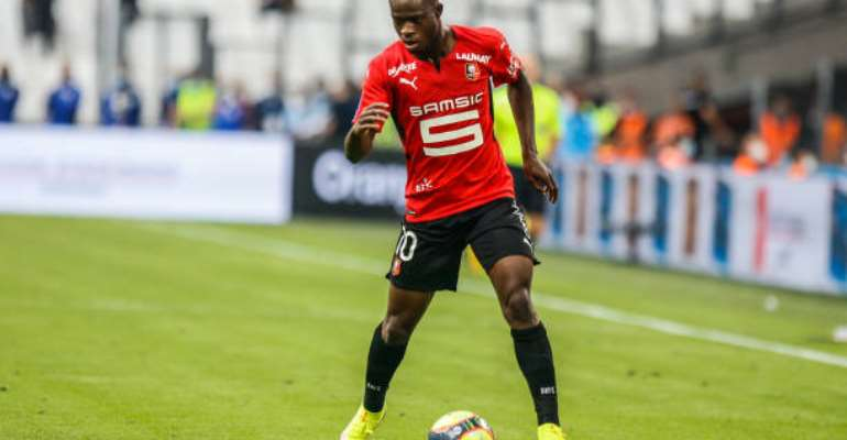 French Ligue 1: Kamaldeen Sulemana earns spot in L'Équipe team of the week after brace against Clermont Foot