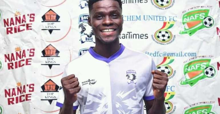 Confirmed: Bechem United announce signing of defender Francis Acquah from BYFA