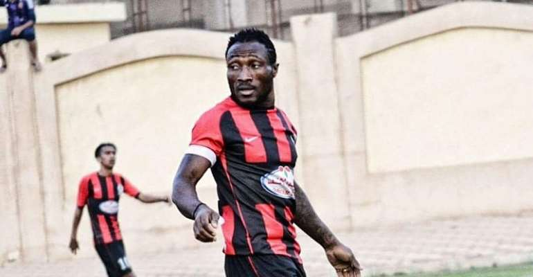 Former Kotoko striker Ben Acheampong strikes to earn a point for El Dakhleya in Egyptian top-flight