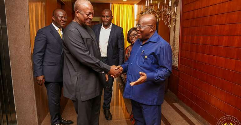 If Akufo-Addo Is a Tyrant, then Mahama Is a .....!