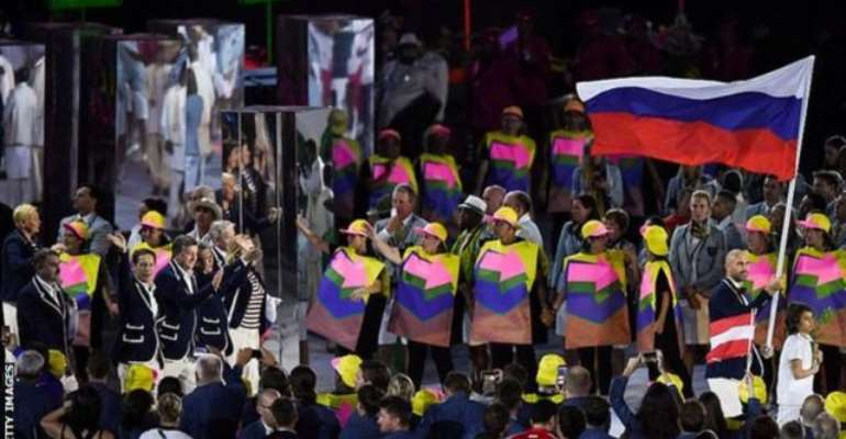 Russia Faces Ban From All Major Sports Events