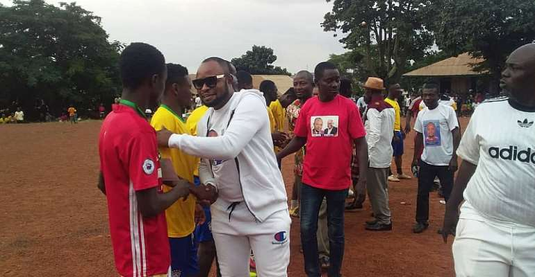 Manhyia North MP Electrifies Constituency With Football Gala