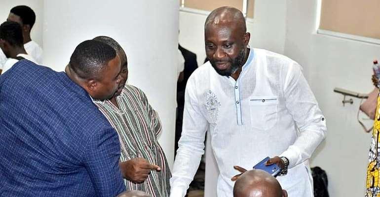 George Afriyie Attends Kurt Okraku's Manifesto Launch [PHOTOS]