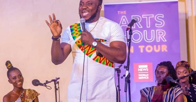 DKB, Lydia Forson, M.anifest, Others Feature On BBC's Arts Show
