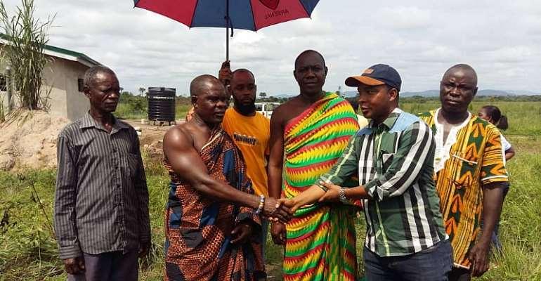 Volta GJA Secures Land For Media Village Project