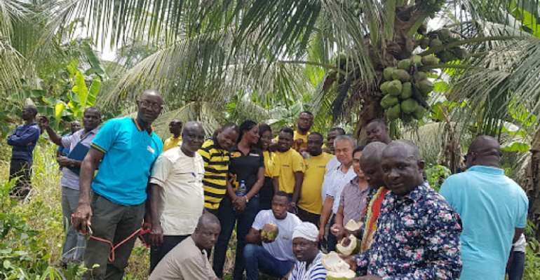 WR: Farmers Pledge Support For Coconut Festival