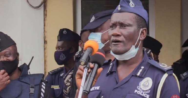 DCOP Boakye-Yiadom recently advised police officers to control their sex drive