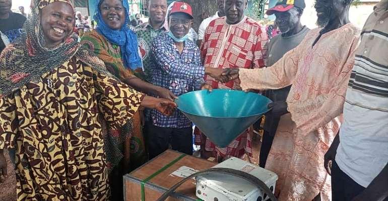Sagnarigu MP Donates Six Corn Mills To Communities