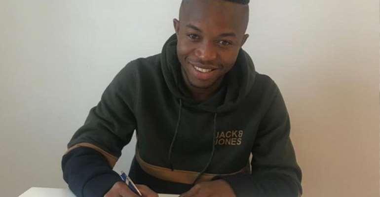 Ghanaian youngster Samuel Alabi