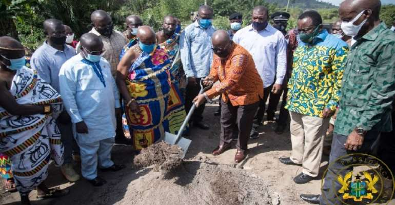 W/N: I've Given You 400 Projects, 3 New District Hospitals – Akufo-Addo
