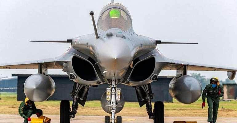 © Indian Air Force via AP