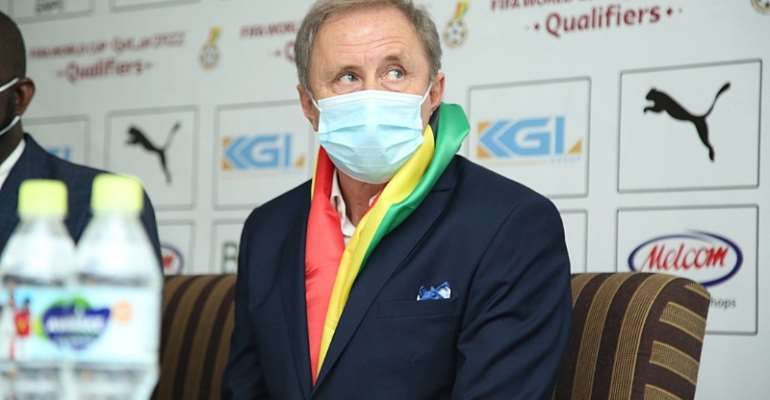Milovan Rajevac to earn extra $300,000 if Black Stars secure 2022 World Cup