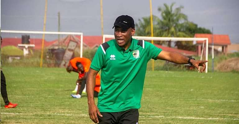 Asante Kotoko: We have the quality to win trophies - Prosper Narteh Ogum