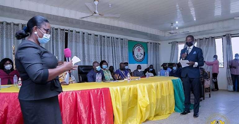 C/R: Bismark Baisie Nkum nomination approved as new Gomoa West DCE